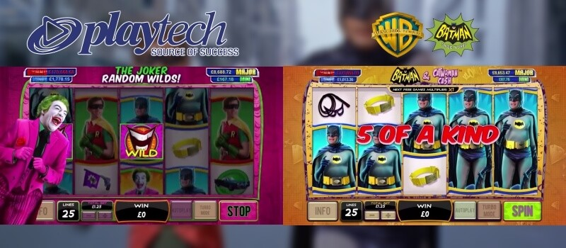 Playtech to Launch Warner Bros. DC Entertainment Slots Image