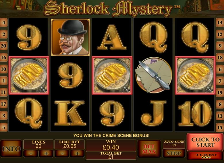 Sherlock Mystery by Playtech
