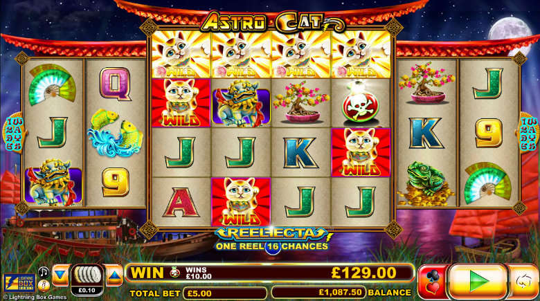 Astro Cat - Video Slot