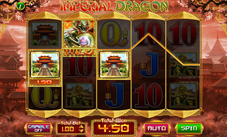 Imperial Dragon - Video Slot