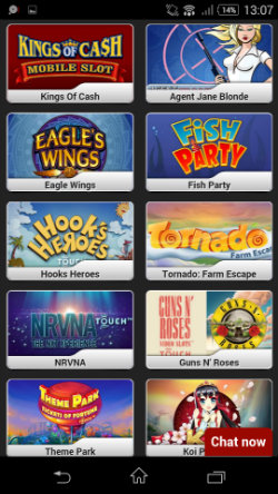 BETAT Mobile Casino - Online Slots