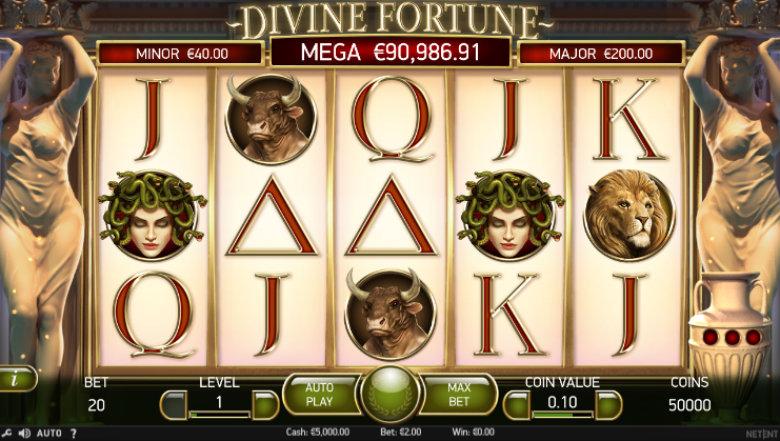 Divine Fortune - Jackpot Slot