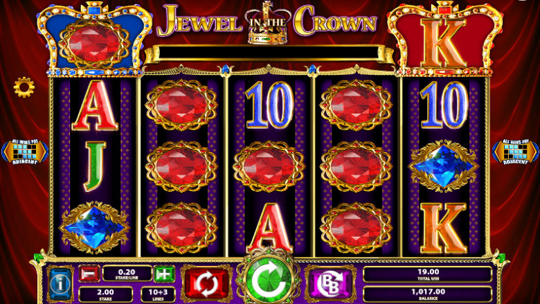 Jewel In The Crown - Video Slot