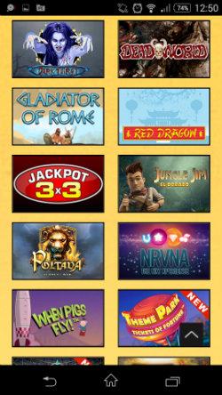 Spin Fiesta Mobile Casino - Mobile Slots