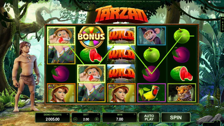Tarzan - Video Slot