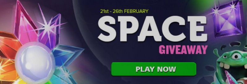 Casino Luck Space Giveaway Image