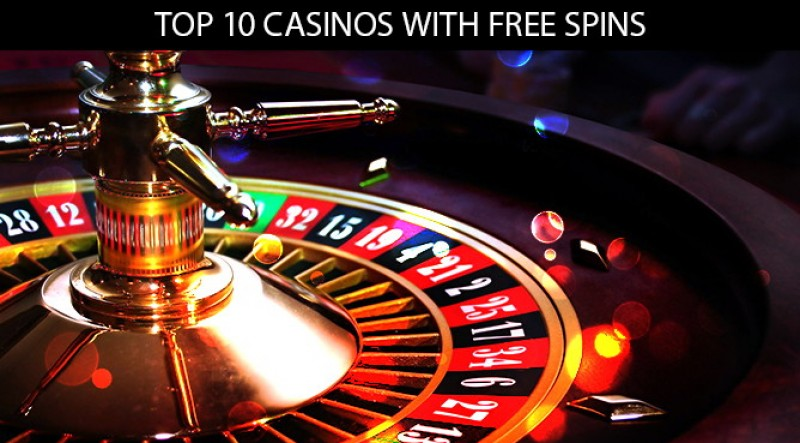 Top 10 Casinos with Free Spins – No Deposit Required Image