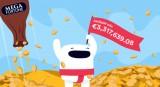 Casumo Mega Fortune Jackpot Win