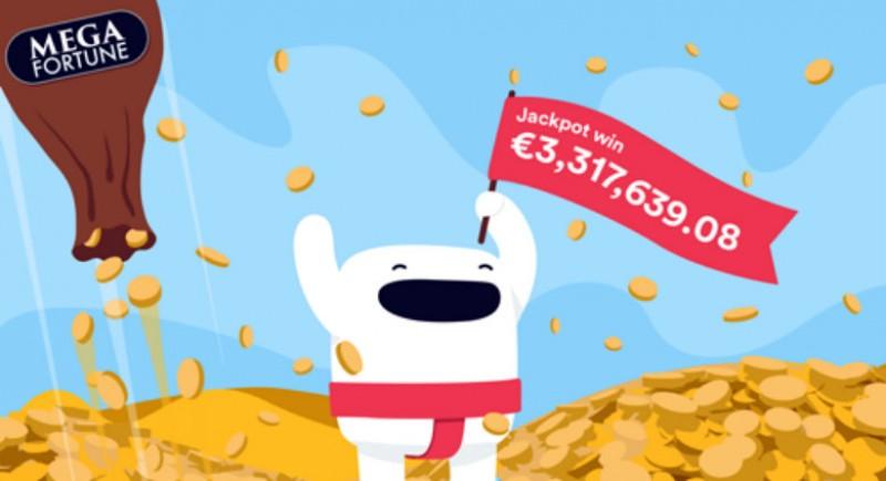 Casumo Player Wins Mega Fortune Jackpot Image