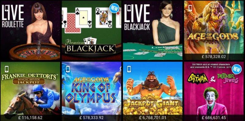 Ladbrokes Casino Updates Live Casino Offer Image